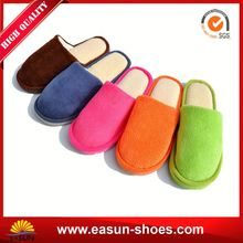 Factory selling cheap house slipper shoe turkish christmas plush slippers