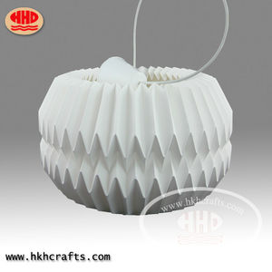 Hot sale folding origami hanging paper lantern lampshade for home decorations