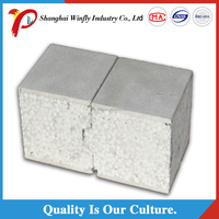 heat resistant no asbestos exterior soundproof partition cement sandwich wall panel