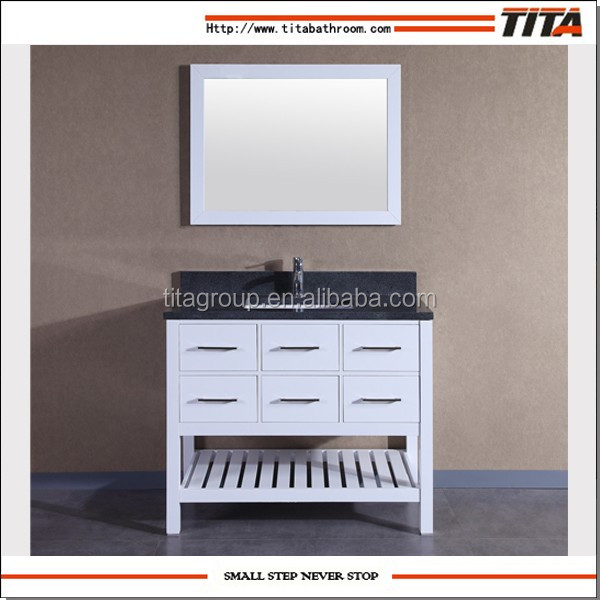 "42"" commercial bathroom vanities for undermount sink"