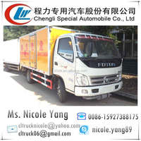 3.5Ton van cargo truck explosion-proof vehicles, anti-riot truck