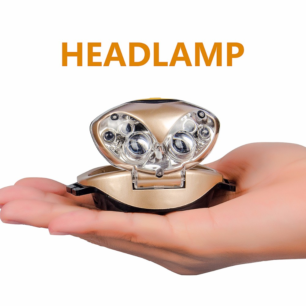 6LED Heand lamp from TEQIN
