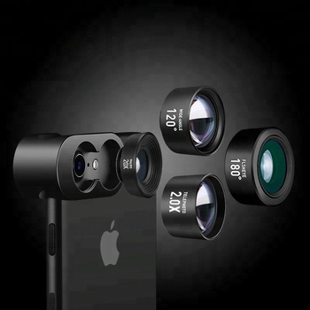 4 in 1 new products mini sport camera lens for smartphone lens