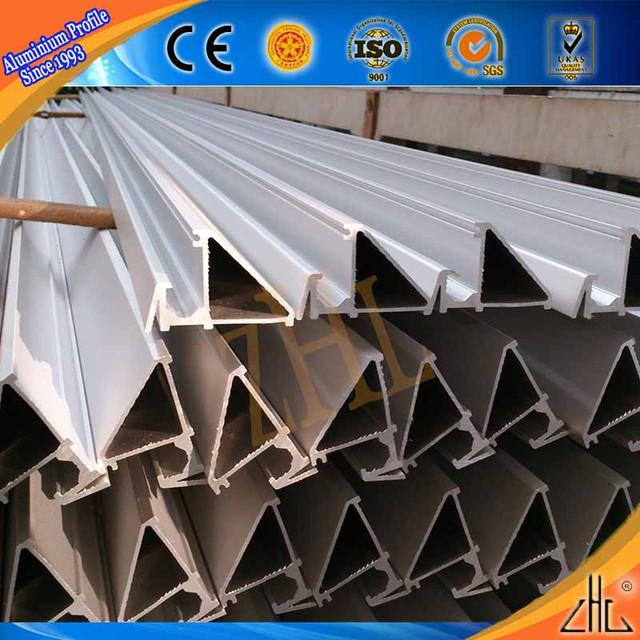 Hot! OEM aluminium profiles triangle aluminium extrusions, kinds of aluminium triangle tube