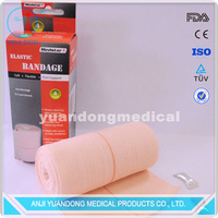 New products for 2016 color box packaging high elastic bandage