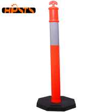delineator post flexible plastic parking safety traffic warning bollard