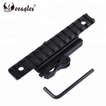 21mm Hunting Accessories Quick Release Weaver Scope Base Picatinny Rail Adapter Gun Scope Mount