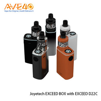 Direct Output and Constant Voltage Output Joyetech EXCEED BOX Kit with EXCEED D22C Atomizer 2ml