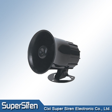speaker horn 20w 12v car siren black white color 600mA 120dB police siren horn speaker, driver unit horn speaker