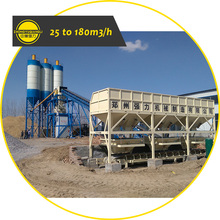 Factory Price Large Capacity Belt Stationary Ready Mixed Concrete Mixing Batching Plant for Sale