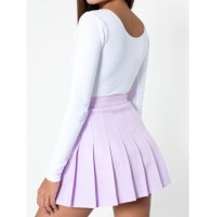 New Fashion Women's Tennis Skirt Pleated American School Ladies Fashion Apparel Mini Skater Skirt