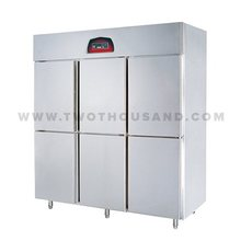 TT-BC1780A-2 6 Door Restaurant Kitchen Commercial Reach In Freezer