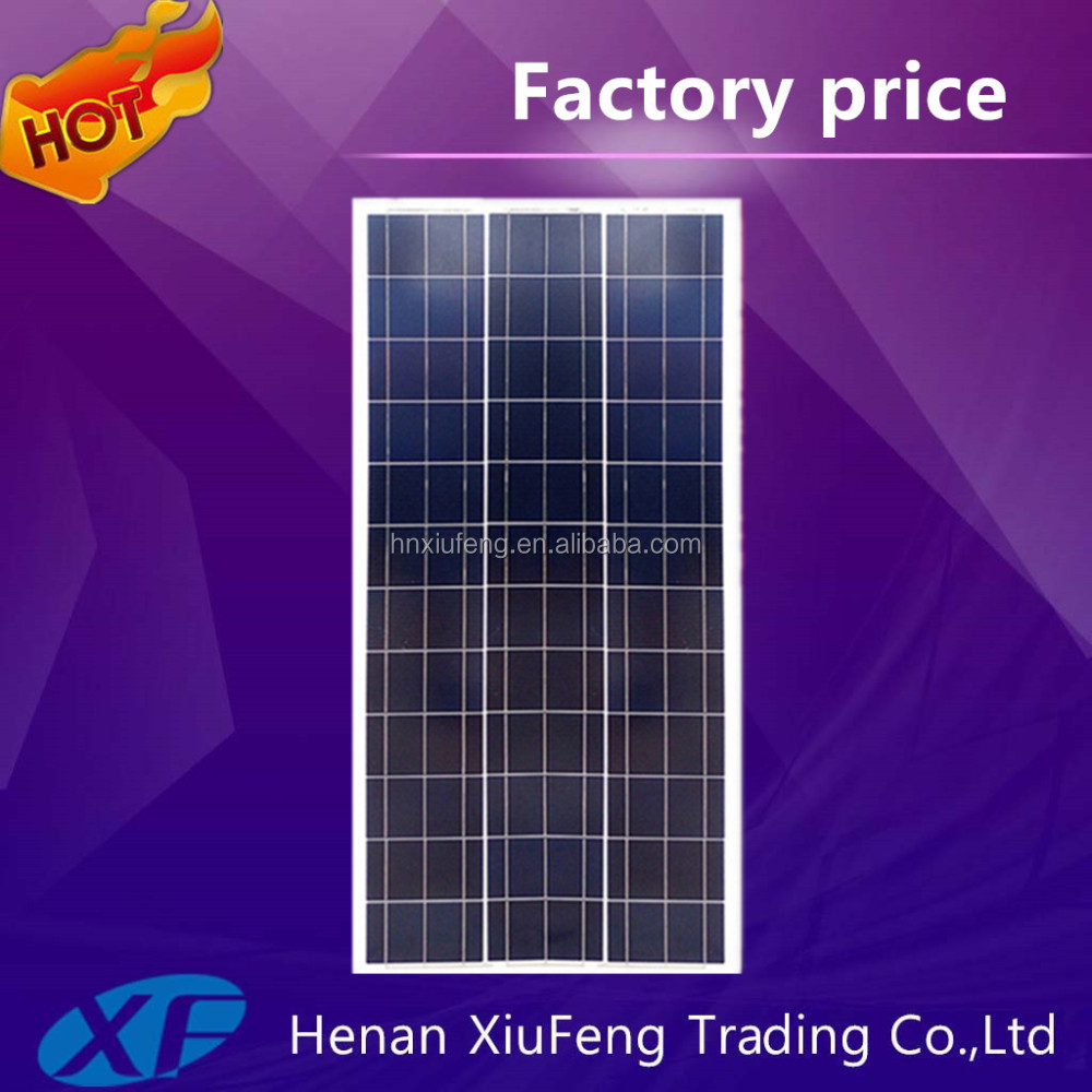 A Grade Monocrystalline Polycrystalline Silicon Material 250W 300W Solar Panel Price For Solar Home System
