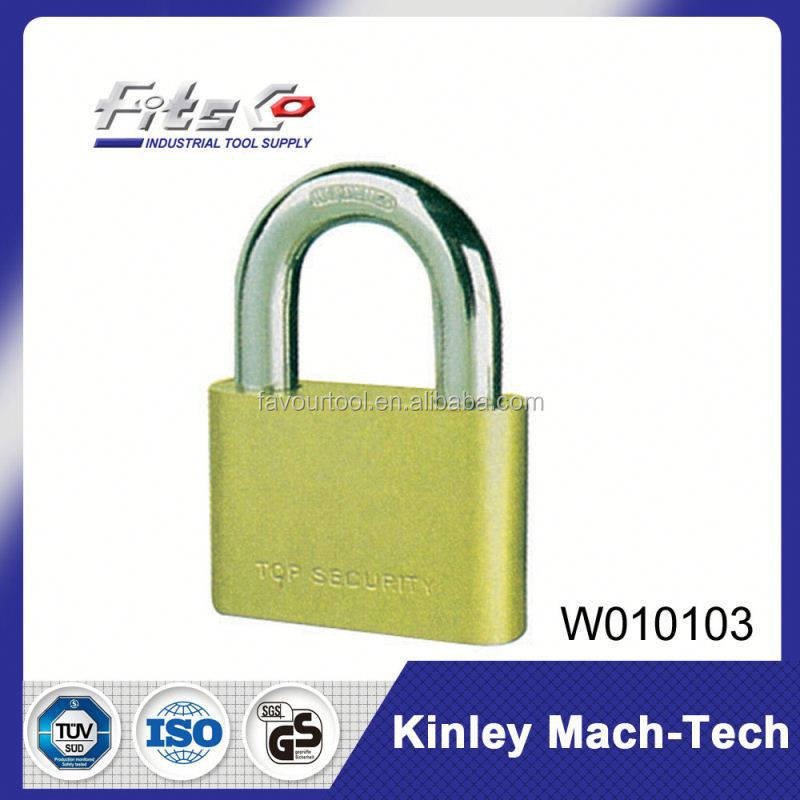 Factory Price Brass Pad Lock Gold Color