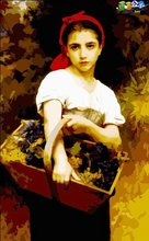 Nude oil painting women picture beautiful girl photo painting by numbers