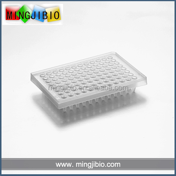 High quality None-Skirt 0.2 ml 96 well pcr plate