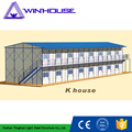 Custom Design K House Steel Double Prefabricated Hot Sale House