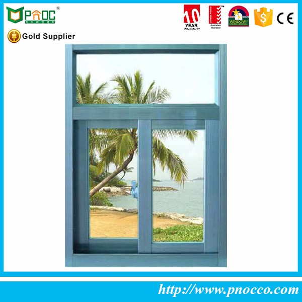 Aluminum profiles double glazed glass units sliding window runners