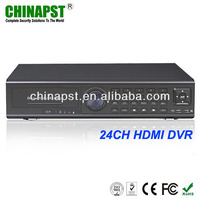 H.264 3G Network/Mobile View/FTP/TV Adjust/Email Function Security Digital Video Recorder PST-DVR024H
