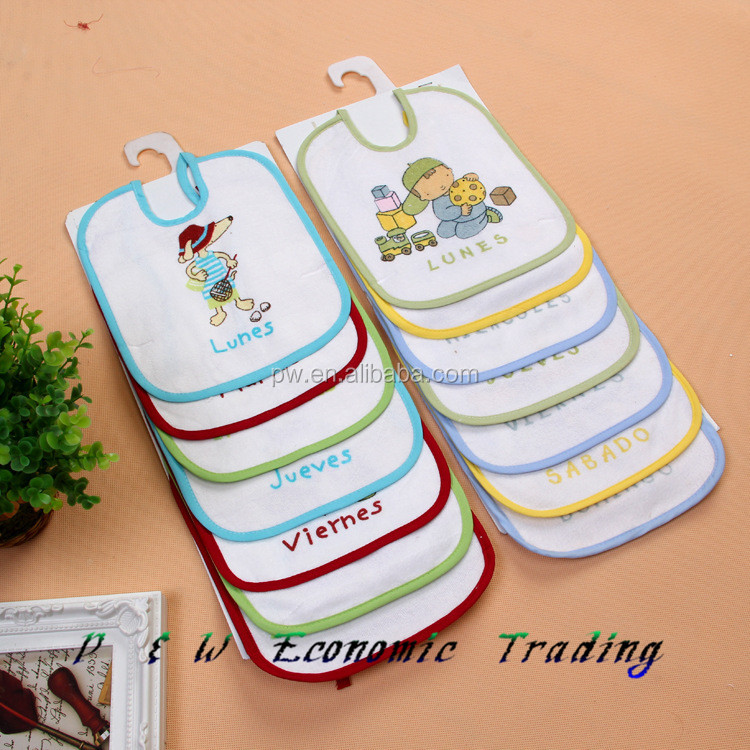 hot sale newborn cotton baby bibs