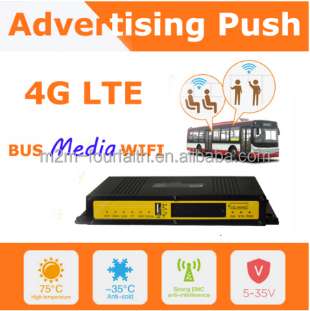 F3436H 3G router wifi in car advertisment pushing Vehicle/Transportation Wi-Fi