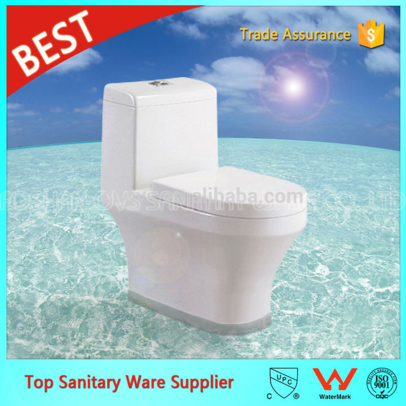 ovs ceramic bathroom best design reasonable price siphonic one-piece toilet A2011
