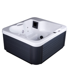 Cheap price freestanging whirlpool ourdoor cold spa hot tub for 2 person