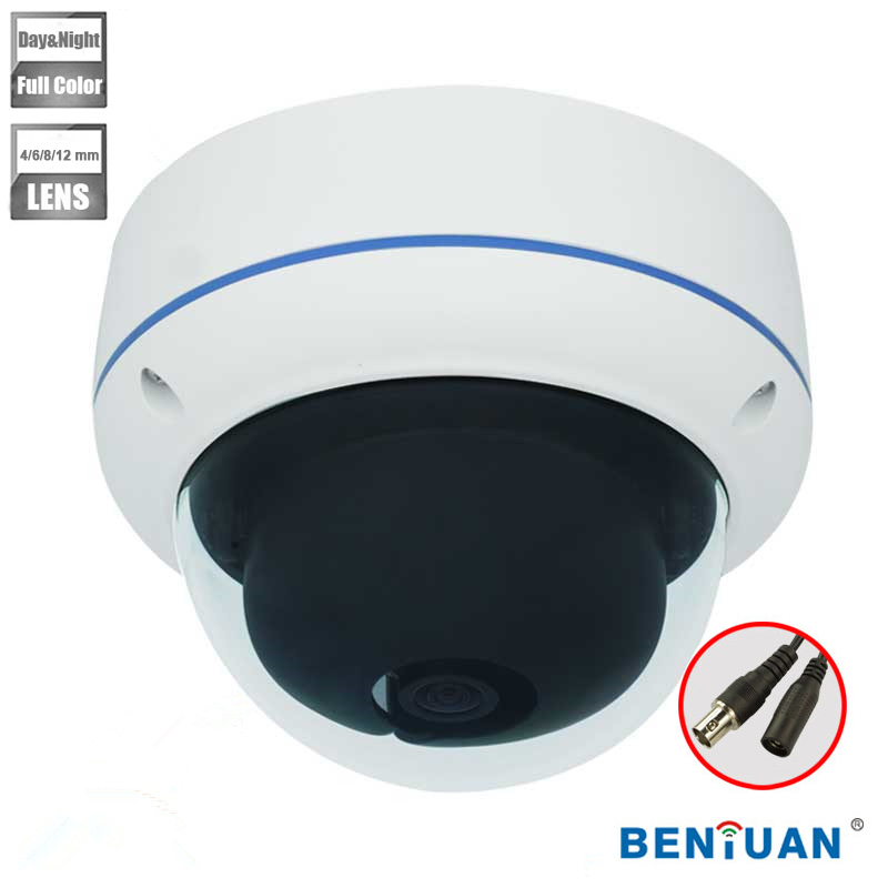 Min. illumination 700 TVL Night Vision <strong>Security</strong> Analog Dome Camera with Sony CCD for Day and Night Surveillance Without IR LED