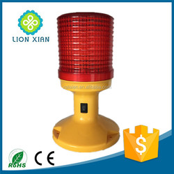 solar powered traffic led emergency beacon light