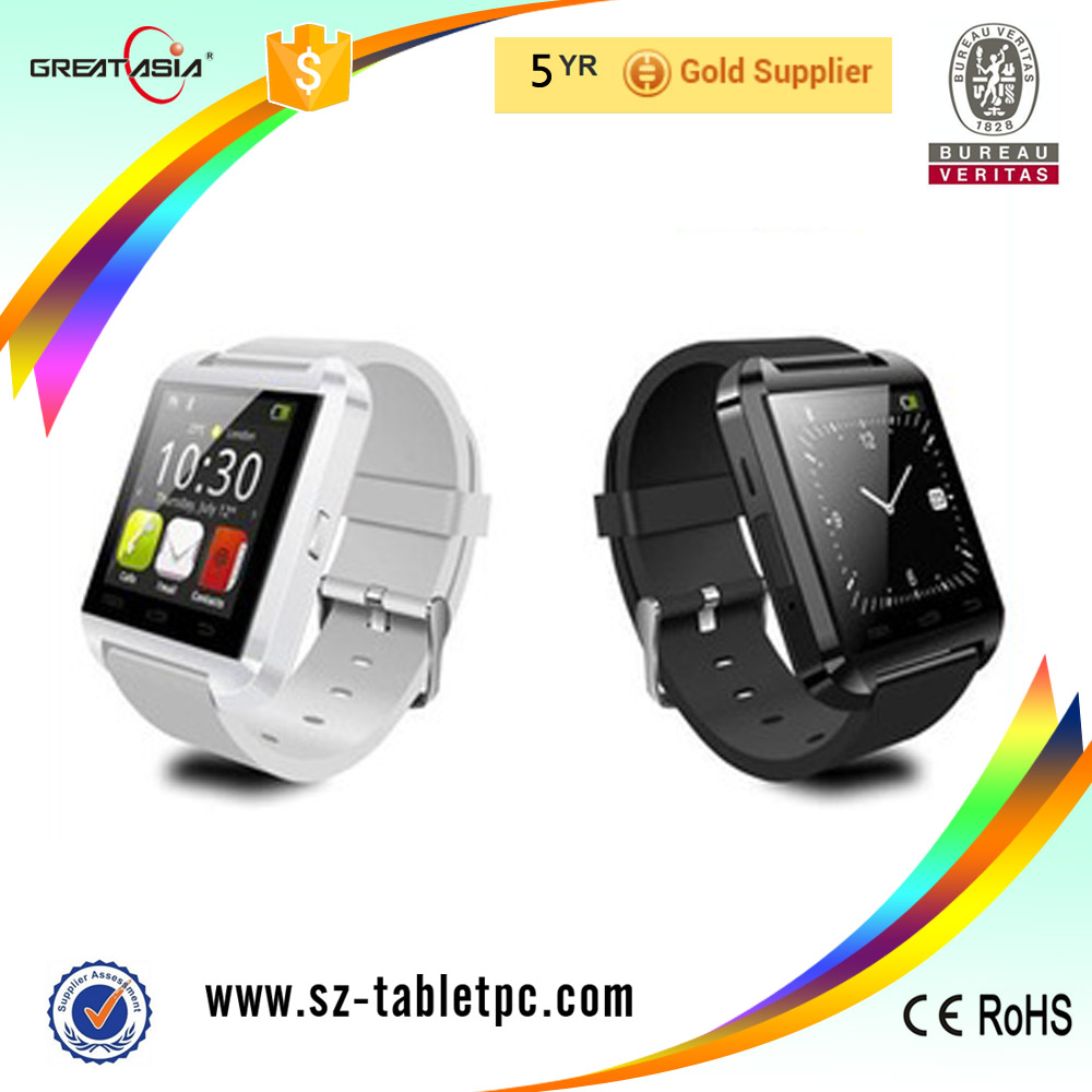 Promotional watch mobile phone u8 hot sale china watch mobile phone