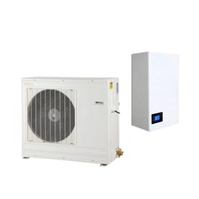 DC inverter split air to water heat pump for house heating 10kw 20kw