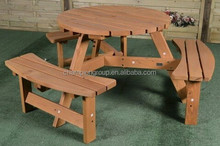 6 seat wholesale picnic table