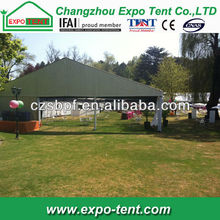 Outdoor temporary exhibition stand tent