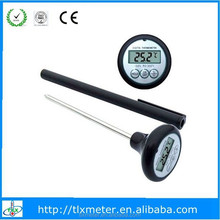 Household Digital Dial BBQ Mini Steak/beef Thermometer