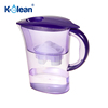 Low negative ORP portable water ionizer ,water filter jug