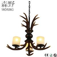Vintage industrial decorative wrought iron living room furniture lamp hanging lighting fixtures
