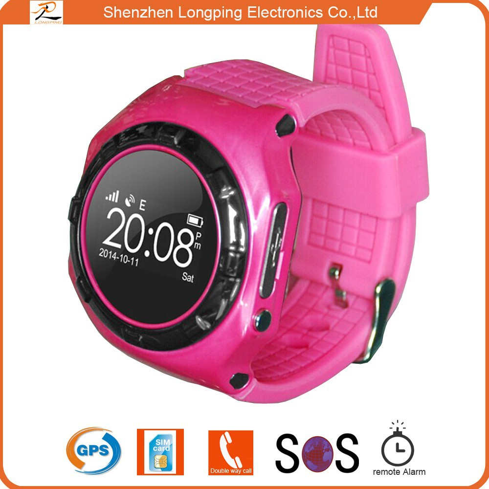 factory promotion SOS smart kids gps watch phonefor android iphone 6