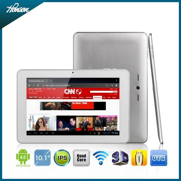 Sanei N10 quad core 10.1 inch IPS screen 1GB/16GB support bluetooth tablet pc