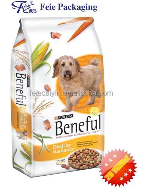 Pet Dog Food Bag With Resealable Zipper - Buy Pet Food Bag ...