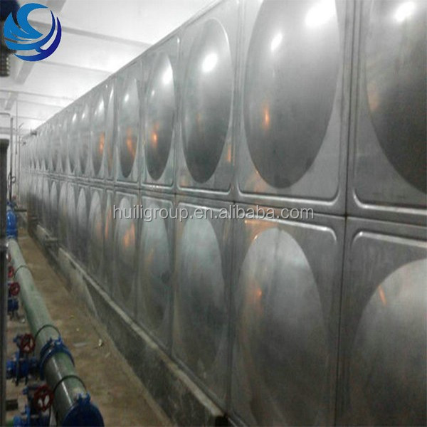 Large Capacity Stainless Steel Cold Water Storage Tank