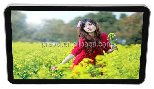 "wide screen 26"" LED picture rotating large size digital picture frame mp4 player"
