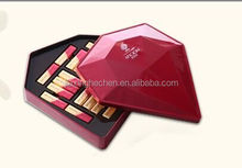 Promotional diamond shape chocolate gift tin box for wholesale