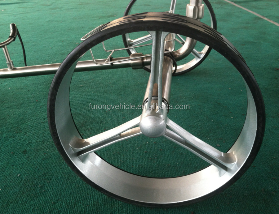magnezium wheel for electric golf trolley