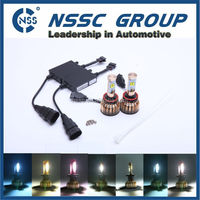 NSSC cree car moving led head lights lamp motorcycle headlight bulbs