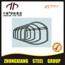mining using U steel beam arch support and mining support