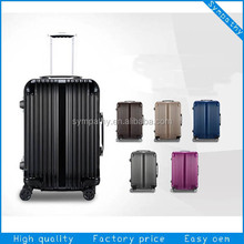 Fancy polo trolley luggage travel bags for business