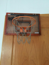 Plastic basketball backboard/ Steel basketball rim/ children indoor basketball game