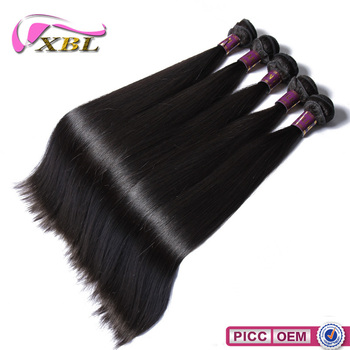 XBL good quality cheap price unprocessed, 10a grade 100 human hair