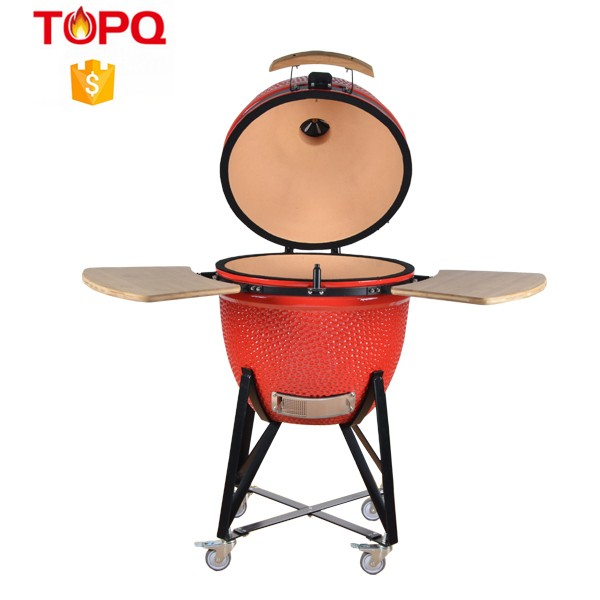 TOPQ Outdoor baking oven / Camping marine bbq with fire box/ yakitori oven