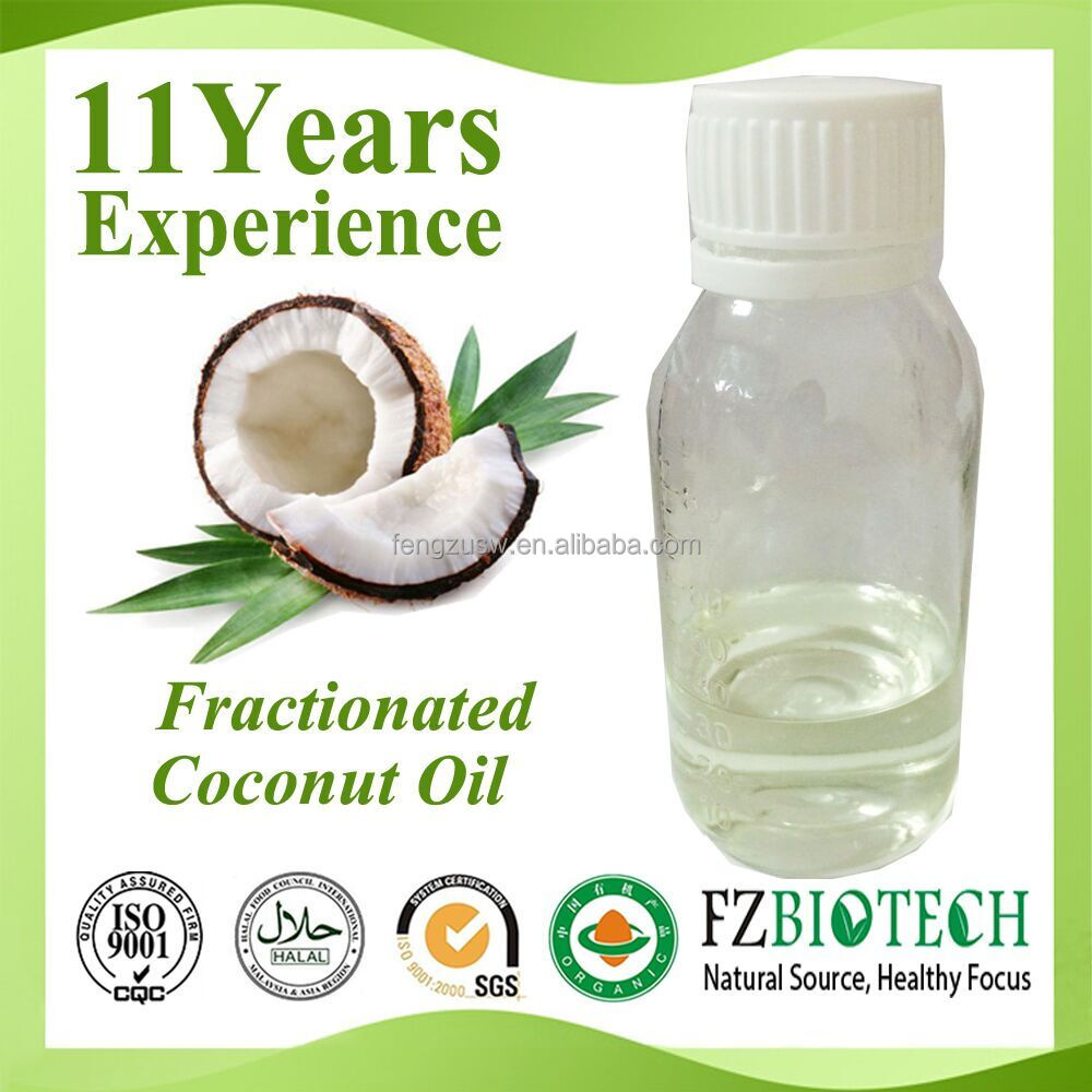 Wholesale Clear Color Fractionated coconut oil, Private Label Refined Coconut Oil for Cooking